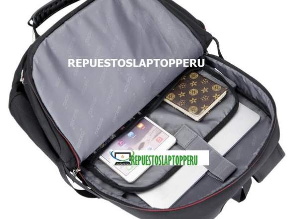 "Mochila Socko Laptop 18.4"" Nylon  Resistente Agua"