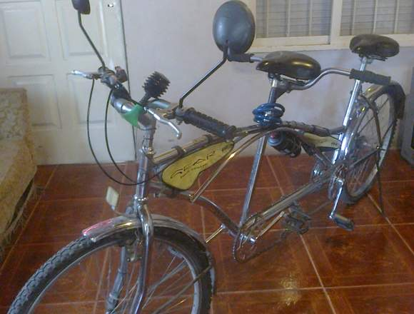 VENDO BICICLETA DOBLE
