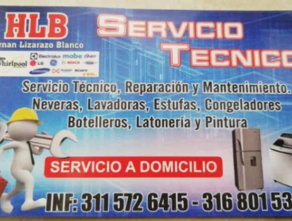 Servicio técnico a domicilio