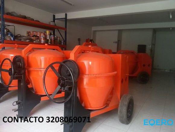 MEZCLADORA BULTO Y MEDIO MOTOR DIESEL 10HP