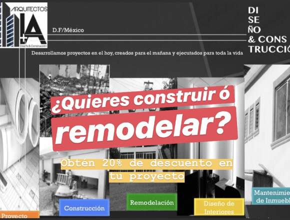 remodelacion construccion arquitecto