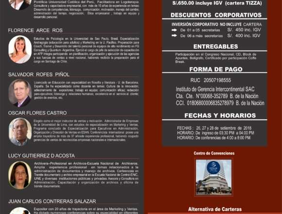 CONGRESO NACIONAL DE SECRETARIAS