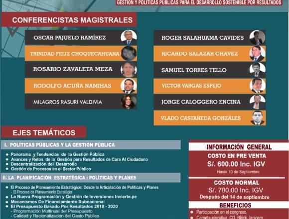 Congreso Nacional de Presupuesto Público