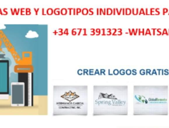 Hacemos individual paginas web,