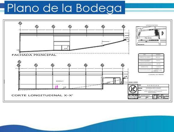 Rento bodega de 1184 m2 en Tlalnepantla de Baz