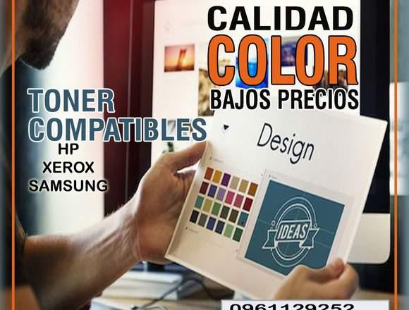 TONER CARTUCHO COMPATIBLE SAMSUG, HP, XEROX