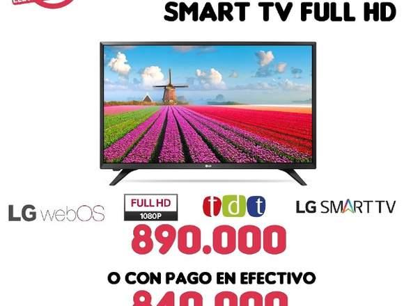 "LED DE 43"" SMART TV FULL HD CON TDT"