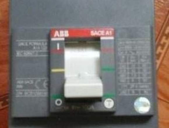 Breaker ABB 3 polos 125 amperios