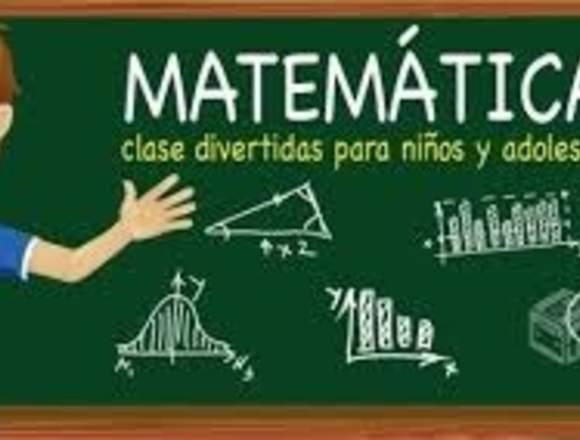 profesor particular de matematicas