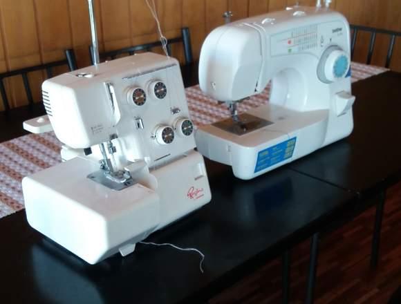 Máquinas de coser poco uso