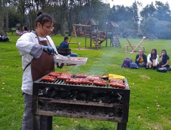Eventos de parrilla o cocina