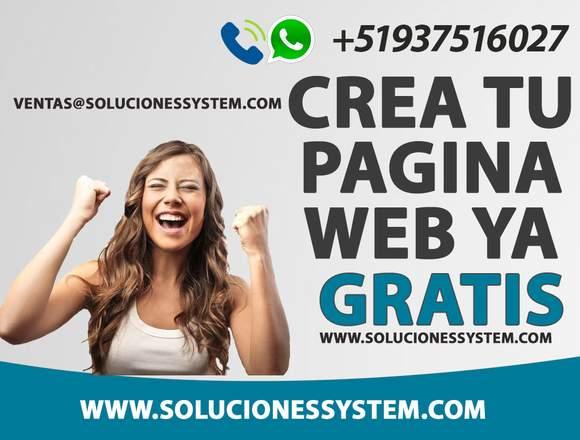 Pagina Web para tu Empresa o Negocio