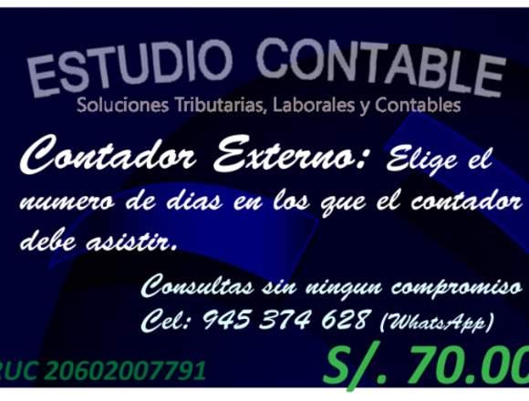 ESTUDIO CONTABLE CONTADOR ASESORIA PDT