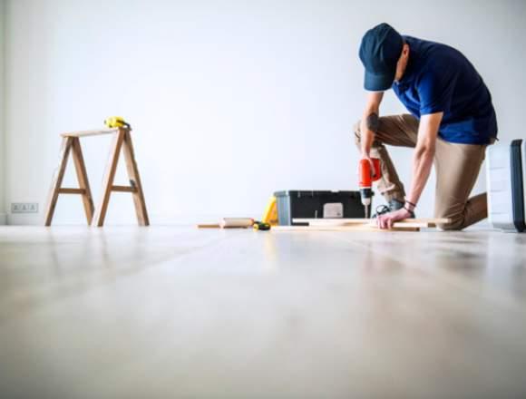 Reparación y mantención de obras menores