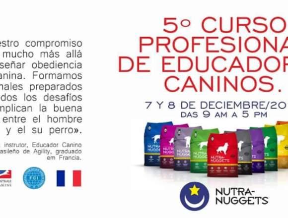5º CURSO PROFESIONAL DE EDUCADORES CANINOS
