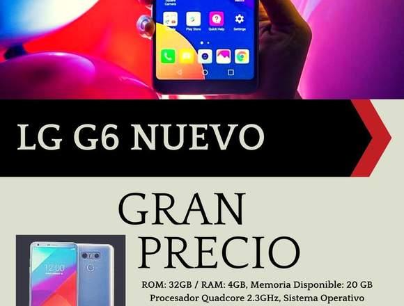 Nuevo Lg G6 Nuevo Rom: 32gb / Ram: 4gb