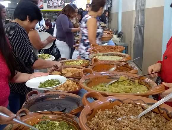 Taquizas y banquetes en Puebla