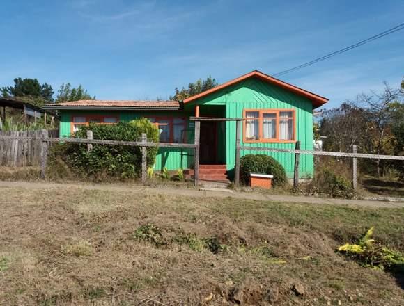 Casa en terreno amplio en Huiscapi