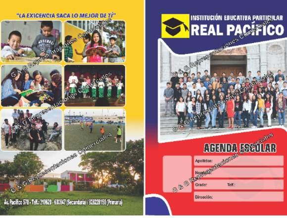 Agendas Escolares y/o Cuadernos de Control
