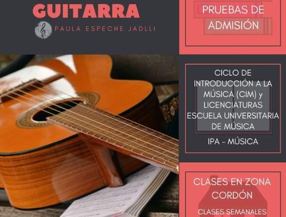 Clases de Guitarra en Cordón