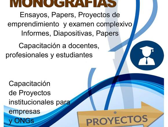 Asesoria tesis, proyectos y monografias
