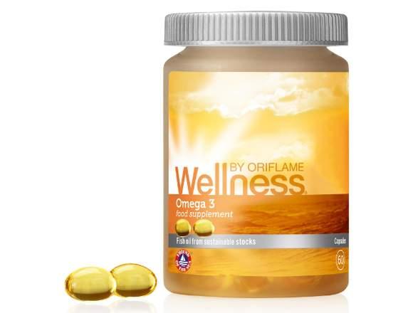 Suplemento Omega 3 Wellness