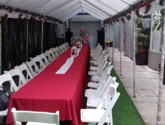 Renta de Jardín para Eventos