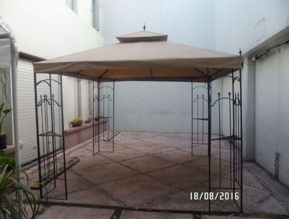 HERMOSO JARDÍN EN RENTA PARA FIESTAS