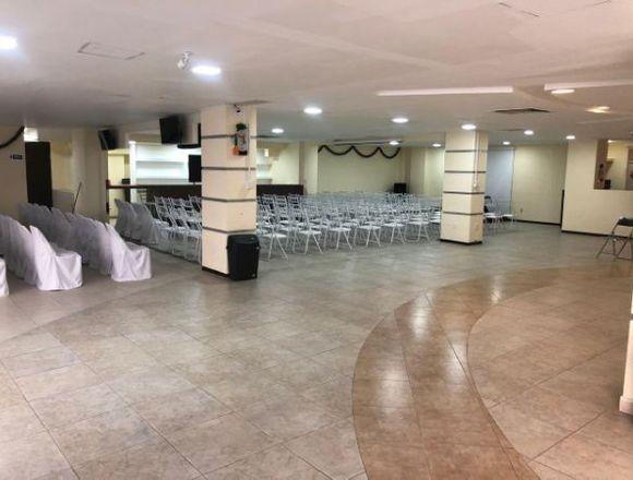 RENTA DE SALÓN PARA EVENTOS