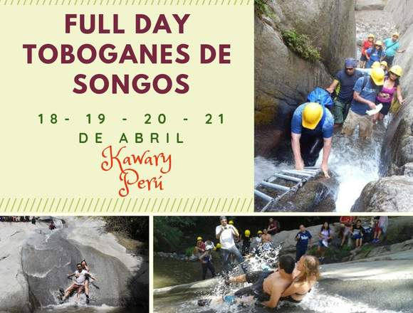 FULL DAY TOBOGANES DE SONGOS