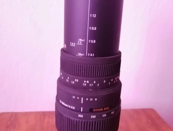 Sigma 70-300/4-5.6 Macro DG EO - Objetivo