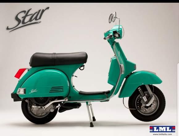 Vendo moto modelo vintage