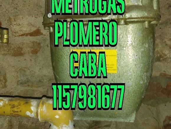 Gasista matriculado metrogas plomero 1157981677