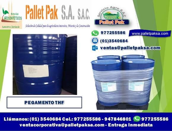 8.- PEGAMENTO THF y EXTRAMIL PARA GEOMEMBRANA PVC