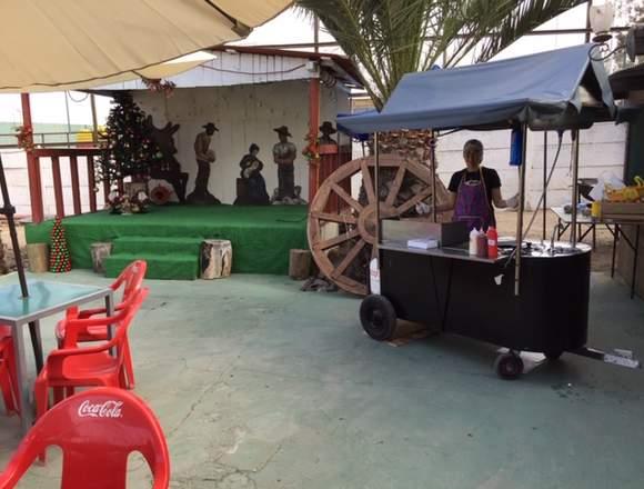 el carrito del sazon en tu evento
