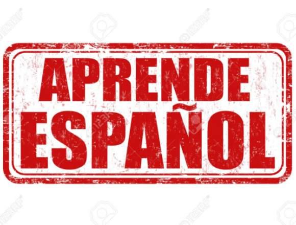 Clases de español a domicilio por $15