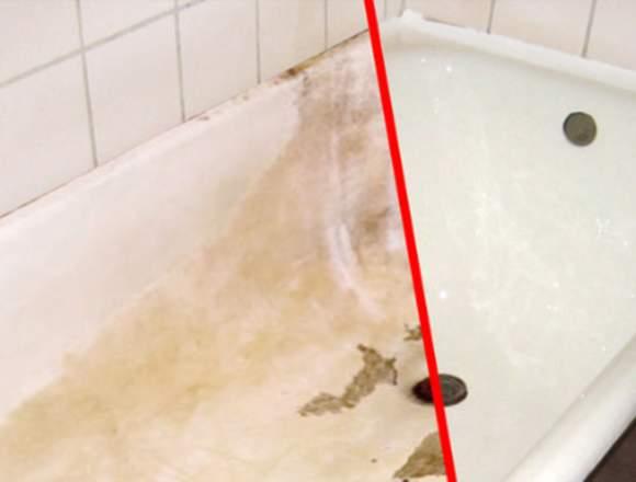 Renovação banheiras.