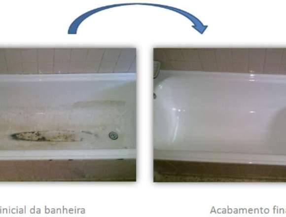 Renovação banheiras, bases de duche, polibans.