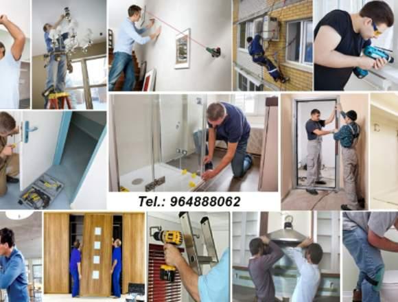 Montagem móveis, aparelhos ou qualquer equipamento