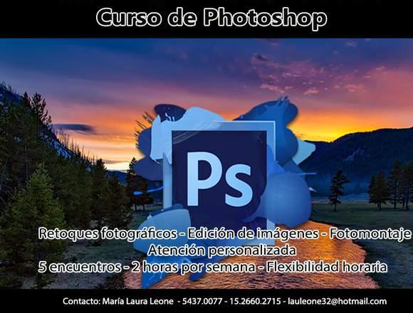 Curso de Photoshop - Flexibilidad de horarios