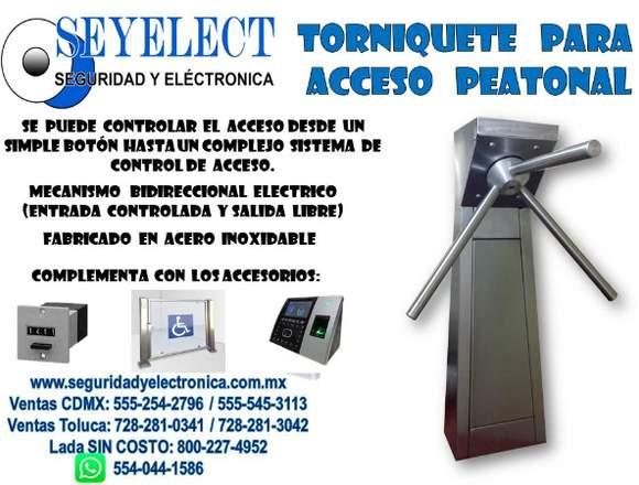TORNIQUETE PARA CONTROL DE ACCESO SEYELECT