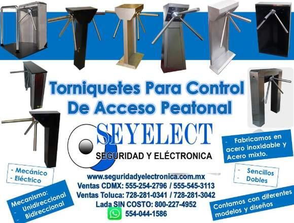 TORNIQUETES PARA CONTROL DE ACCESO SEYELECT