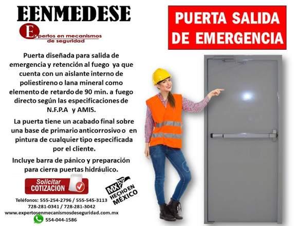 PUERTA SALIDA DE EMERGENCIA EENMEDESE