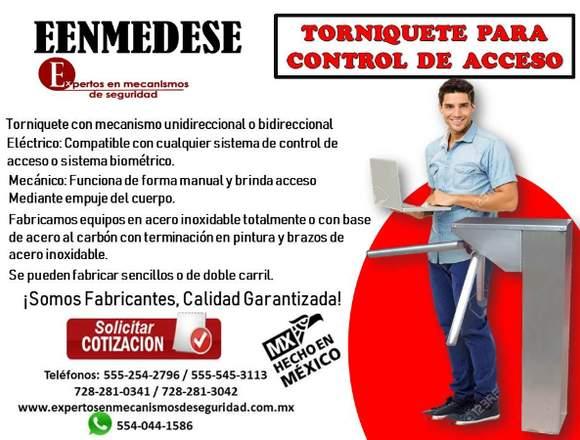 TORNIQUETE PARA CONTROL DE ACCESO EENMEDESE