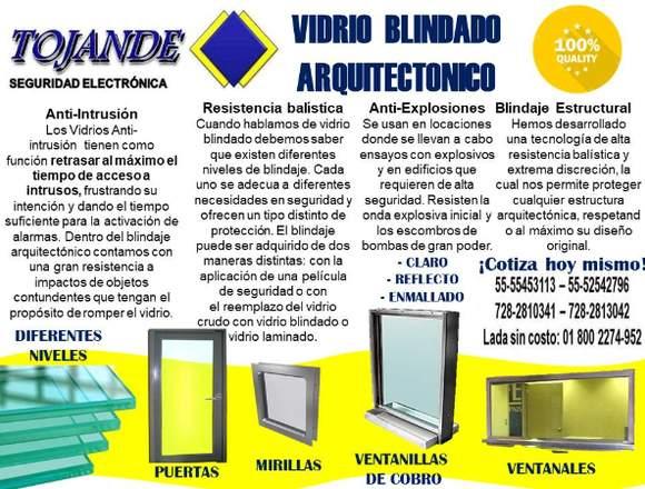 VIDRIOS BLINDADOS TOJANDE