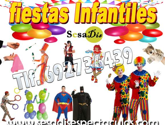 Fiestas infantiles Sesadis