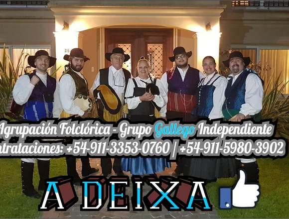 SHOW DE GAITAS GALLEGAS Y DANZA TRADICIONAL