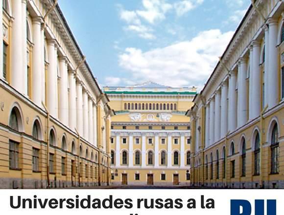 Estudia en Rusia con asesoría de primer nivel