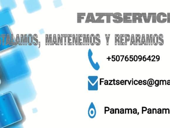 Reparar, Instalar o mantener FAZTSERVICES