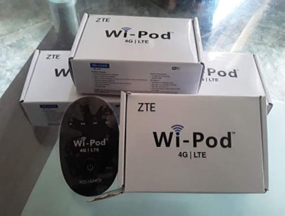 Wipod Internet Portatil, 4g LTE con Digitel